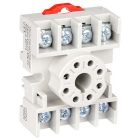 Relay Socket: For 8 Terminals - Gamut