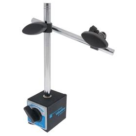 Brown & Sharpe Magnetic Stand: 175 lb, 3/8 Thread Size, Magnetic Base Indicator Holder, 6 15/16 in Arm Lg, 2 in Base Dp