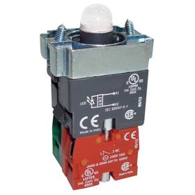 Lamp Module & Contact Block: For Chrome Operators, 1.57 in Overall Lg, Yellow, Includes Bulb, 2.97 in Overall Ht, 1.81 in Overall Wd, LED