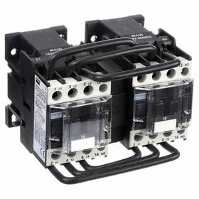 IEC Contactor: 3 Poles, Single/Three Phase, 18 A Current Rating, 120V AC Control Volt, 1 hp - Single Phase @ 120V