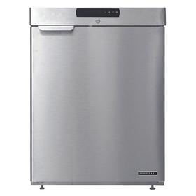 Hoshizaki Refrigerator: 23 1/2 in Overall Wd, 4 cu ft Storage Capacity, 4 cu ft Freezer Capacity, 32 3/4 in Overall Ht