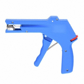 Cable Tie Tool: For 0.1875 in Max Cable Tie Wd, For Nylon Cable Ties, For 0.125 in Min Cable Tie Wd, Pistol Trigger, Adj Tension