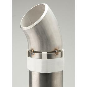 Pipe Weld Spacer: Shim, 3/8 in Overall Wd - Gamut