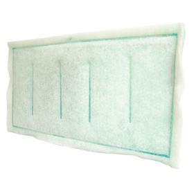 Panel Filter: Commercial/HVAC/Industrial/Used Extensively in Paint Booths To Clean Incoming Air, 0.25 % Arrestance, Synthetic Fiber, 24 PK