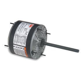 Direct-Drive HVAC Motor: Condenser Fan, 1/6 hp Output Power, 1075 Nameplate RPM, 48YZ NEMA Frame Size, TEAO, CW/CCW