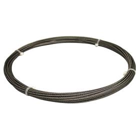 Corrosion Resistant Military Grade Wire Rope: 5/16 in Rope Dia, 302/304 Stainless Steel, MIL-DTL-83420, TYPE 1, COMP B, 7 x 19, Strand