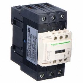 IEC Contactor: 200V AC Control Volt, 3 Poles, Single/Three Phase, 65 A Current Rating, 200V AC Input Volt, 1NC/1NO