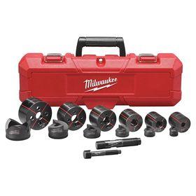Milwaukee Stud Driven Hole Punch Tool Set Manual Power Source 14