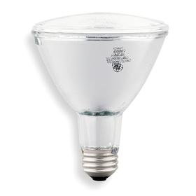 GE Reflector HID Bulb: Metal Halide, Spot, PAR30L, E26, 39 W Watt, 2400 lm, 80 Color Rendering Index, ANSI Code M130