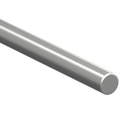 Straight Linear Shaft: Inch, Stainless Steel, 440C Material Grade, Case Hardened, Plain, 5/8 in Dia, 18 in Overall Lg