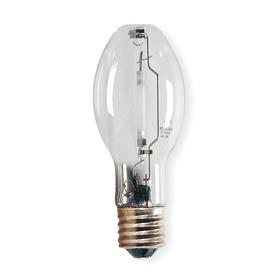 GE Elliptical HID Bulb: High Pressure Sodium, Clear, ED23 1/2, E39, 150 W Watt, 10500 lm, 65 Color Rendering Index