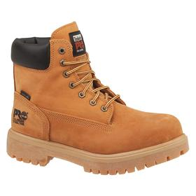 Timberland Pro Cold-Weather Insulated Work Boot: Chemical Resistant/Insulated, D Shoe Wd, 7 Men's Size, Steel, Leather, 1 PR