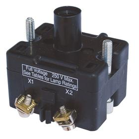Eaton Lamp Module without Bulb: Pilot Light, 120V AC/DC, 4.25 in Overall Lg, Full Volt, Without Lens, Anodized