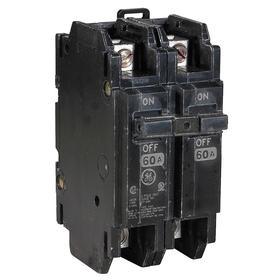 GE Unit Mount Miniature Circuit Breaker: 1 Poles, 25 A Current Rating, 120/240V AC Volt Rating, THQC