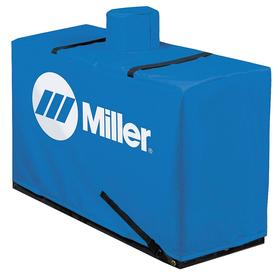 Miller Welder Cover: For Diesel Bobcat/Trailblazer Models, Blue, Welding Machines, Heavy Duty Rating