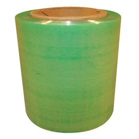 Degradable Hand Stretch Wrap: Cast, For Hand, Reusable Dispenser, 5 in Overall Wd, 120 ga Thickness, Green, 4 PK