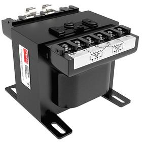 Encapsulated Control Transformer: Panel Mount Mounting, 2000 VA Power Rating, 208/277V AC Input Volt, 8.1 in Overall Lg