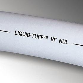 Liquid-Tight Flex Metallic Conduit: 1/2 in Trade Size, 100 ft Overall Lg, Steel, Gray, PVC, 176° F Max Op Temp