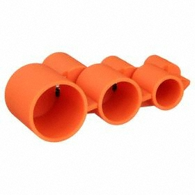 SharkBite Push-to-Connect Tool: HDPE, Used for Deburring & Setting the Dp on CPVC, Copper & PEX Tubing, Orange
