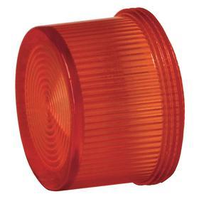 Siemens Pilot Light Lens: Red, For Siemens 30mm Pilot Lights, 18 Haz Material Indicator, Fresnel
