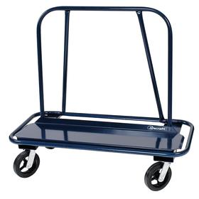 Sloped Frame Panel Truck: Steel, 3000 lb Max Load Capacity, 1 Rails, Blue, 52 in Deck Lg, 12 in Deck Wd, 10 in Deck Ht