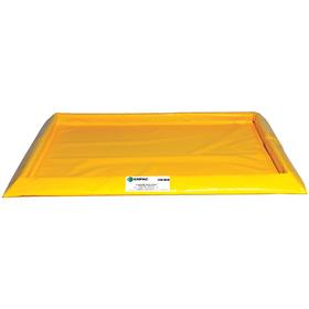 Drum Spill Containment Pallet: Fabric, Drum Spill Containment Platform, For Drums, 4 Drums, 2 lb Max Load Capacity