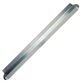 Kraft Tool Float: Channel Float, 72 in Blade Lg, 6 in Blade Wd, Magnesium, Rounded, 1/64 in Blade Thickness