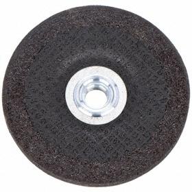 "Norton General Purpose Grinding Wheel: Extra Coarse Relative Grit Grade, 5 in Wheel Dia, 5/8""-11 Center Hole Thread Size"