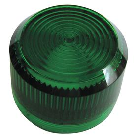 Eaton Pilot Light Lens: 2.19 in Overall Lg, Designed for Most Rugged Industrial Applications, Green, 30 mm Compatible Panel Cutout Dia, Repl Lens