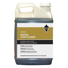 Floor Cleaning Solution: For All Hard Flooring, 2.5 gal Size, Jug