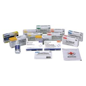 First Aid Only First Aid Kit Refill: 25 Max # of People Served, 84 Pieces, ANSI/ISEA Z308.1-2015, Class A, Paperboard