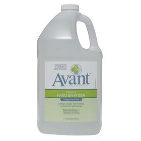 Avant Hand Sanitizer: For Avant Bulk Fill Dispenser, 1 gal Container Size, Bottle, Fragrance Free, Gel, Clear, CCT