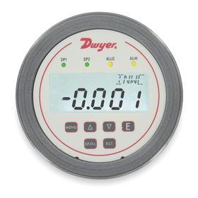 Dwyer Digital Panel Meter: Air Flow/Pressure/Velocity, Front