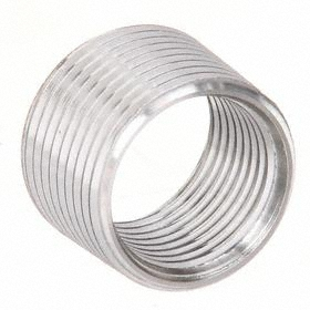 Rigid Conduit Reducing Bushing: 1 in to 3/4 in Reduction Size, 316 Stainless Steel, Non-Insulated, Male to Female