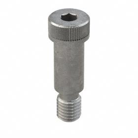 """Steel Shoulder Screw: Alloy Steel, Plain, Hex Socket, 3/4 in Shoulder Dia, 5/8""""-11 Thread Size, 1 1/2 in Shoulder Lg, 10 PK"""