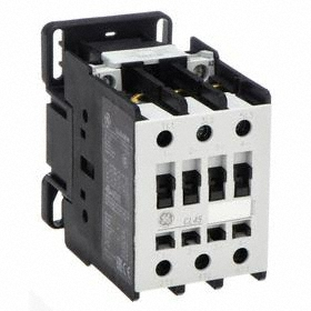 GE IEC Magnetic Contactor: 3 Poles, Single/Three Phase, 40 A Current Rating, 120V AC Control Volt, AC Current Type