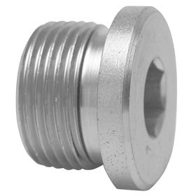 Parker Hannifin Stainless Steel Conversion Hex Hollow Plug: 316 Material Grade, M16 Pipe Size, Metric