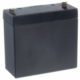 SLA Battery: 9 Ah Capacity, 4 in Ht, 1 3/4 in Wd, 4 in Dp, ABS, F2 Terminal Type
