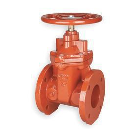 Gate Valve: Ductile Iron, Non-Rising, Bolted Bonnet, Class 125 Class, 8 Inlet Pipe Size, 11 1/2 in Inlet to Outlet Lg