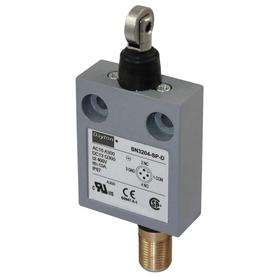 Roller Plunger Miniature Limit Switch: Zinc, 1NO/1NC Pole-Throw Configuration, Stainless Steel, 0.96 in Actuator Lg, 3.79 in Overall Ht