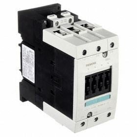 Siemens IEC Contactor: 3 Poles, Single/Three Phase, 95 A Current Rating, 10 hp - Single Phase @ 120V, 30 hp - Three Phase @ 240V