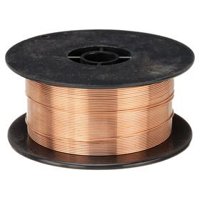 MIG Welding Wire: ER70S-6 AWS Classification, 0.035 in Overall Dia, DC+ For Welding Current, 11 3/4 in Spool OD