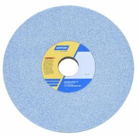 Norton High Performance Grinding Wheel: Coarse Relative Grit Grade, 8 in Wheel Dia, 1 1/4 in Center Hole Dia, 46 Grit, 5 PK