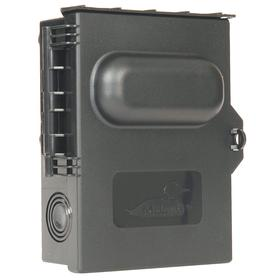 GE Air Conditioning Disconnect Switch: Single Phase, 60 A @ 240V AC Switch Rating, AC Current Type, For 60 A, 7 in Switch Ht