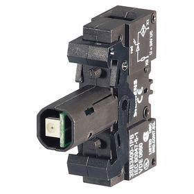 Siemens Lamp Module with Bulb: For Mfr. No. 3SB34000B Contact Block/Mfr. No. 3SB34000C Contact Block, 110V AC, White