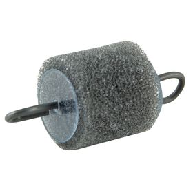 Gardner Bender Air Blower Line Carrier: 5 in Overall Lg, 3/4 in Overall Dia, For 3/4 in Conduit Dia, Foam, Gray, 10 PK