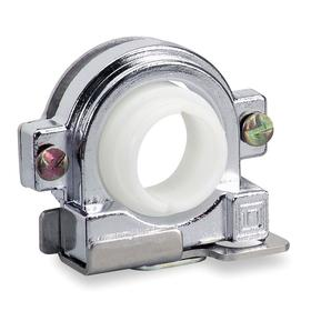 Schneider Electric Push Button Padlock Attachment: Metal, 30 mm Compatible Panel Cutout Dia, 2 Haz Material Indicator