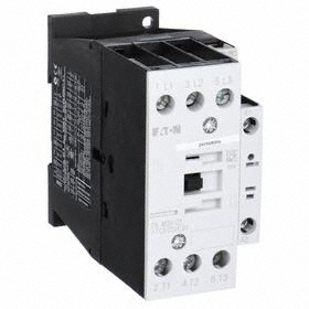 Eaton IEC Magnetic Contactor: 3 Poles, Single/Three Phase, 32 A Current Rating, 120V AC Control Volt, Industrial User's & OEM's
