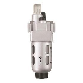 Air Lubricator: 48 cfm Max Air Flow, Aluminum, Screwdriver, Plastic, For 1/4 in Pipe Size, 1.3 oz Bowl Capacity