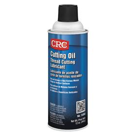 CRC Cutting Oil: 16 oz Container Size, Brown, Petroleum, 16 oz, Aerosol Can